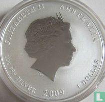"Australië 1 dollar 2009 (kleurloos) ""Year of the Ox"""