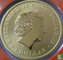 """Australia 1 dollar 2009 """"100 years of excellence"""""""
