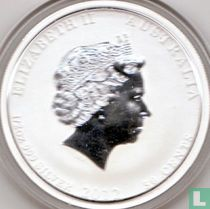 "Australië 50 cents 2012 (kleurloos) ""Year of the Dragon"""