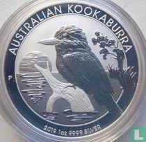 "Australië 1 dollar 2019 (kleurloos - zonder privy merk) ""Kookaburra"""