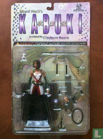 Kabuki sculptured by Clayburn Moore