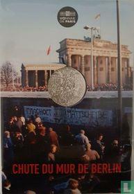 """Frankrijk 10 euro 2019 (folder) """"30 years Fall of Berlin wall"""""""