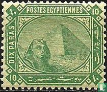 Große Sphinx und Pyramide