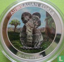 """Australië 1 dollar 2017 (gekleurd) """"Koala"""""""