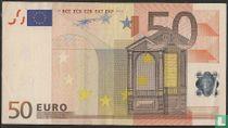 Eurozone 50 Euro T-K-Du
