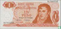 Argentinië 1 Peso 1974