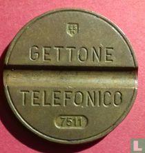 Gettone Telefonico 7511 (ESM)
