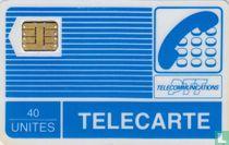 Telecarte 40 unités