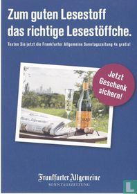 """44947 - Frankfurter Allgemeine """"Zum guten Lesestoff..."""""""