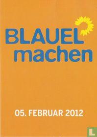 """Bündnis 90/Die Grünen """"Blauel machen"""""""