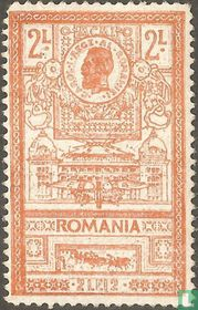 Koning Carol I en het nieuwe postkantoor