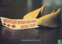 "Studentenkeller Rostock ""Abenteuer Werden Meistens Abends Teuer"""