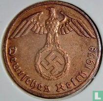 Duitse Rijk 1 reichspfennig 1938 (F)