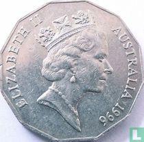 Australia 50 cents 1996