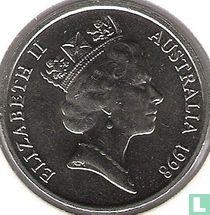 Australië 10 cents 1998