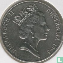 "Australia 20 cents 1995 ""50th anniversary of the United Nations"""