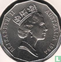 "Australia 50 cents 1994 ""International Year of the Family"""