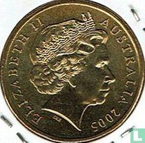 "Australië 1 dollar 2005 (C) ""90th anniversary Gallipoli Landing"""