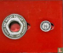 """Australië combinatie set 1988 (PROOF) """"The holey dollar and the dump"""""""