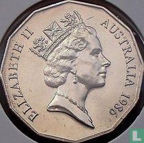 Australia 50 cents 1986
