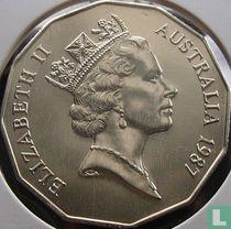 Australia 50 cents 1987
