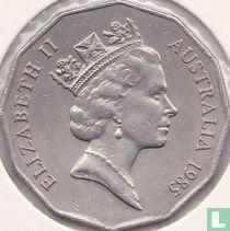 Australia 50 cents 1985
