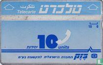 Telecarte 10 units