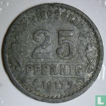 Burgsteinfurt 25 pfennig 1917