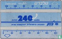Telecard 240 units