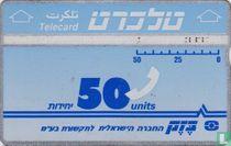 Telecard 50 units