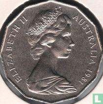 Australia 50 cents 1981