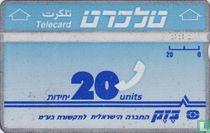 Telecard 20 units