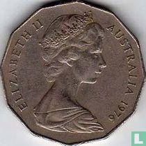 Australia 50 cents 1976