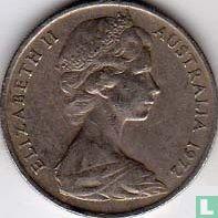 Australië 10 cents 1972