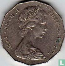 Australia 50 cents 1972