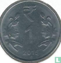 India 1 rupee 2015 (Hyderabad)