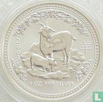 "Australië 1 dollar 2003 ""Year of the Goat"""