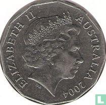 """Australië 50 cents 2004 """"Student Design"""""""