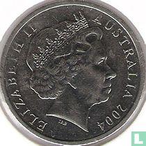 Australië 10 cents 2004