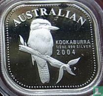 """Australia 50 cents 2004 (PROOF) """"Australian Kookaburra"""""""