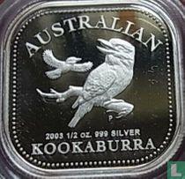 """Australia 50 cents 2003 (PROOF) """"Australian Kookaburra"""""""