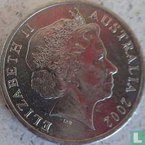Australië 10 cents 2002