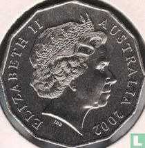 """Australia 50 cents 2002 """"Year of the Outback"""""""