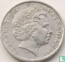 Australië 10 cents 2001