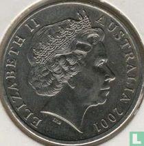 "Australia 20 cents 2001 ""Centenary of Federation - Western Australia"""