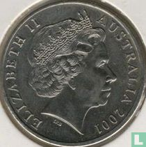 """Australia 20 cents 2001 """"Centenary of Federation - New South Wales"""""""