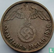 Duitse Rijk 2 reichspfennig 1936 (D)