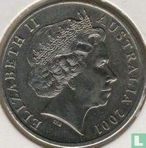 "Australia 20 cents 2001 ""Centenary of Federation - Australian Capital Territory"""