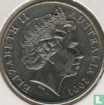 "Australië 20 cents 2001 ""Centenary of Federation - Queensland"""