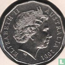 "Australia 50 cents 2001 ""Centenary of Australian Federation"""